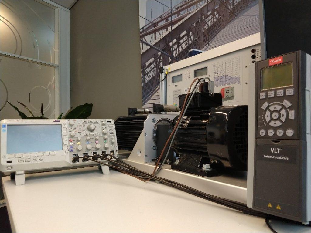 Motor control testbench at S2E